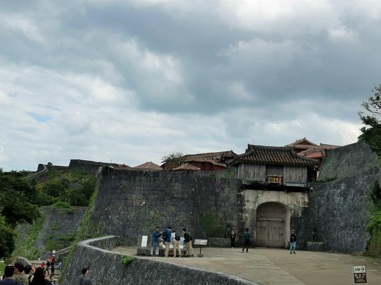 守礼門からの景色