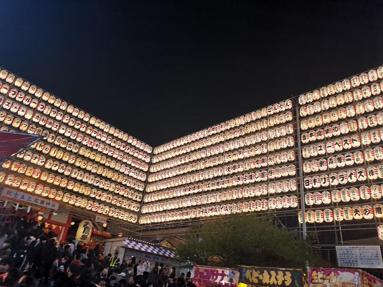 新宿酉の市