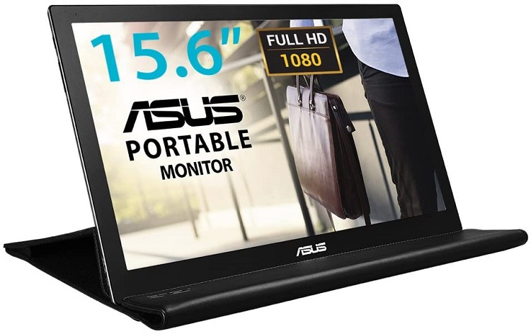 ASUS MB169BR+ モバイルモニター
